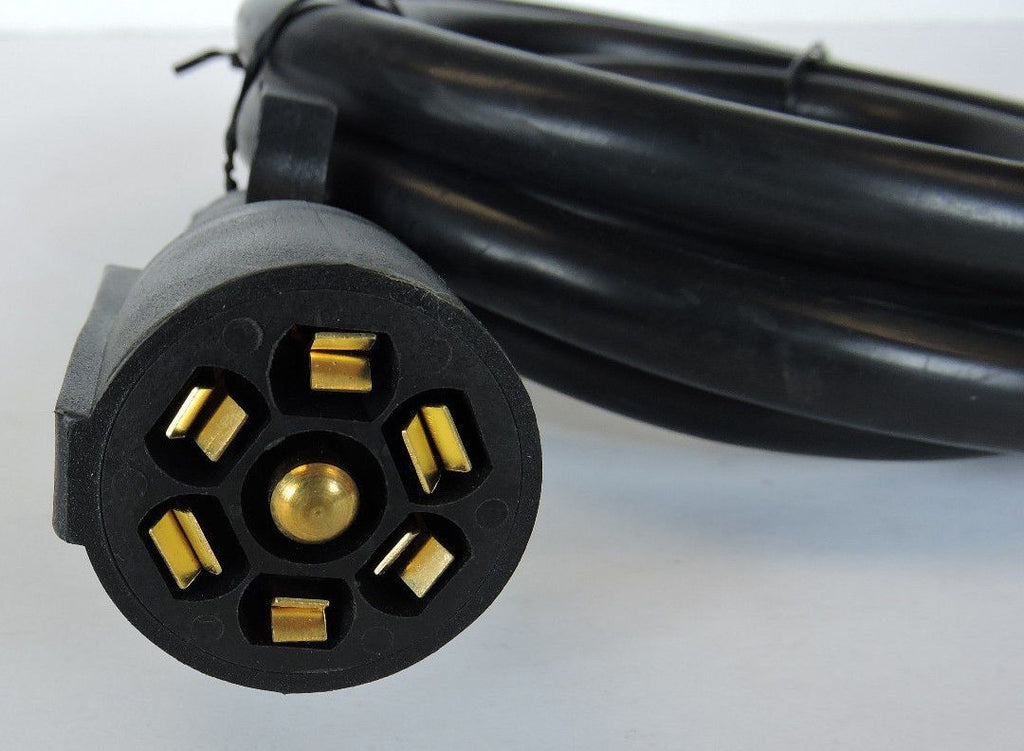 8ft Foot 7 Way Trailer Cord Wire Harness Light Plug