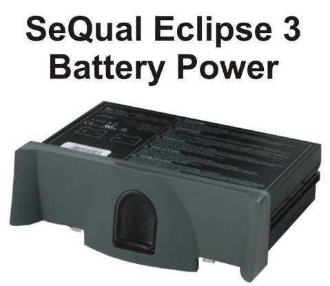 SeQual Eclipse 3 Portable Oxygen Concentrator Battery Power