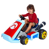 World of Nintendo Super Mario Kart Deluxe 12V Battery Operated Ride-On