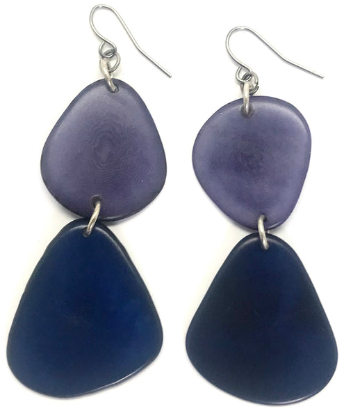Duo Tagua Earrings