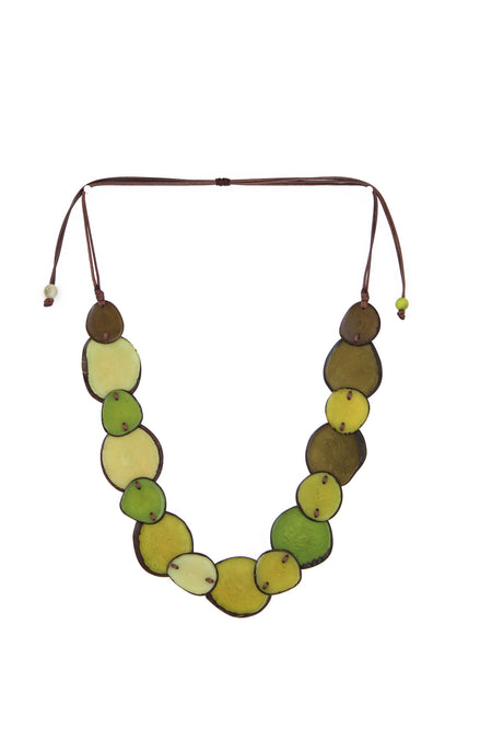 Teardrop Tagua Necklace