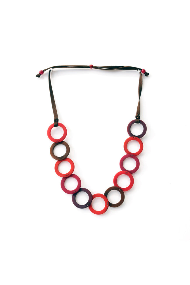 Stylish and neat environmentally friendly necklace
