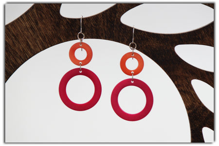 Teardrop Tagua Earrings