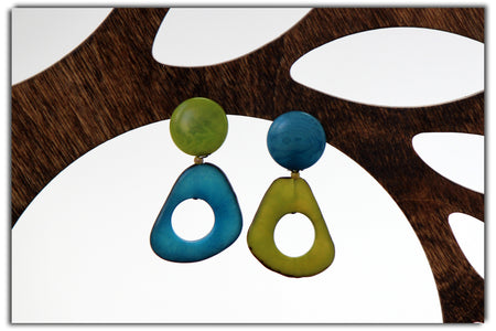 Jakaranda Morning Star Tagua Necklace
