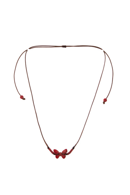 Jakaranda Flower Necklace