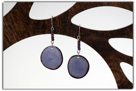 Trios Tagua Earrings
