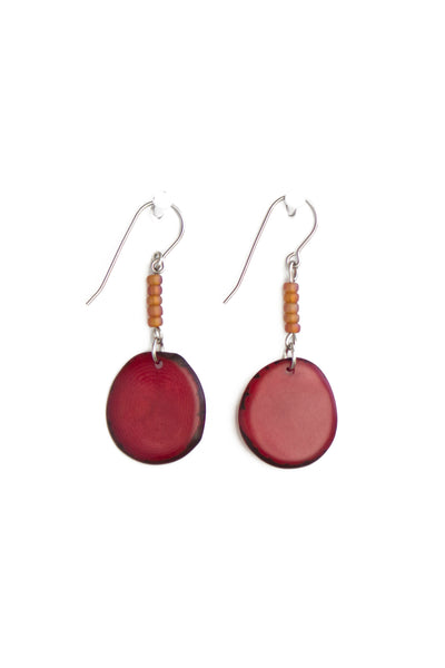 Fashionable and Refined Sustainably Sourced Leilani Earrings
