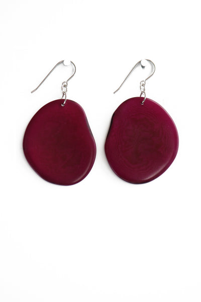 Petal Tagua Earrings