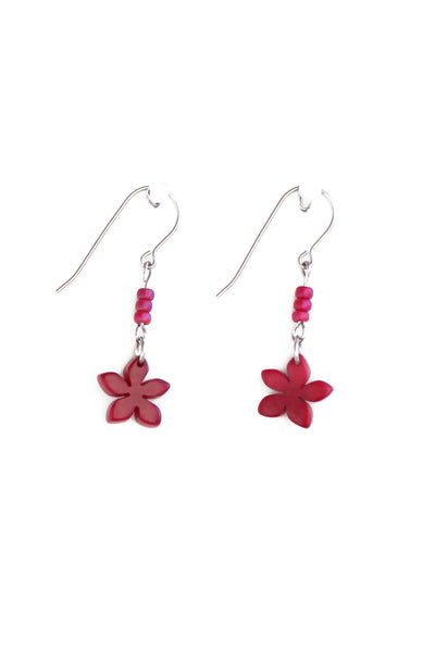 Cute handmade flower earrings