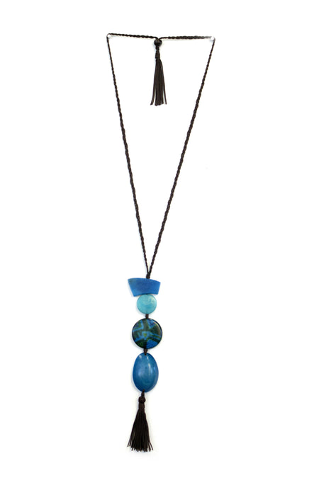 Lotus Tagua Necklace