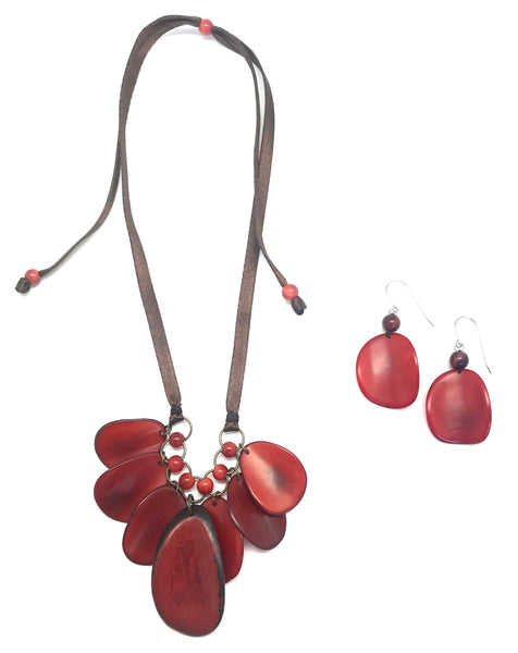 Zulia Tagua Necklace Set