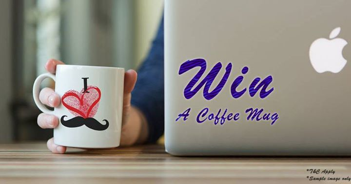 opportunity to win a designer coffee mugs from Fashion In Punjab