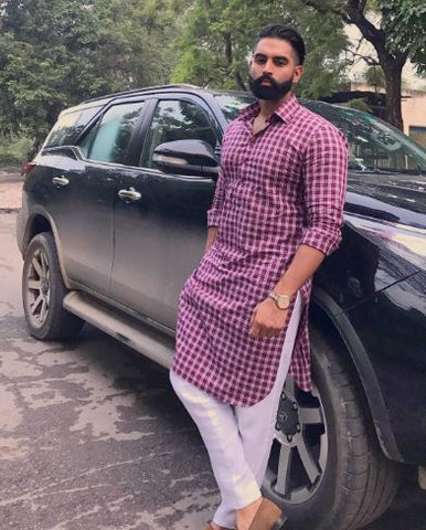 muktsari-Kurta-pajama-designs-for-men-parmish-verma-in-khadi-kurta-latest-pic-2018-fashion-in-punjab