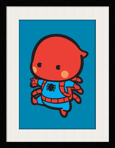 Baby Spiderman - Framed Wall Art - Fashion In Punjab
