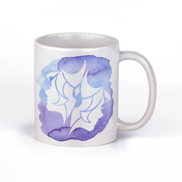 Coffee Mug with Gemini Horoscope Sign by Fashion In Punjab - Fashion In Punjab