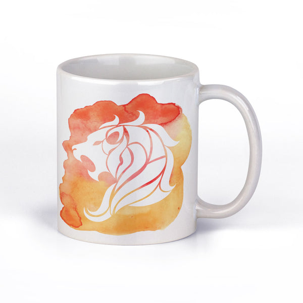 Coffee Mug with Leo Horoscope Sign by Fashion In Punjab - Fashion In Punjab
