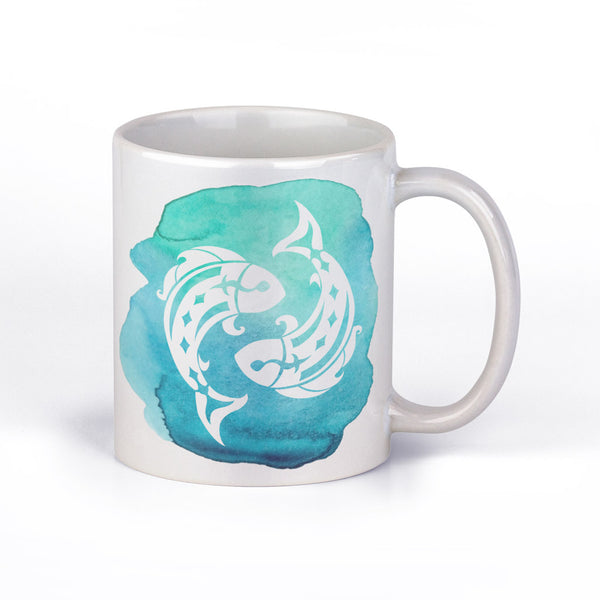 Coffee Mug with Pisces Horoscope Sign by Fashion In Punjab - Fashion In Punjab