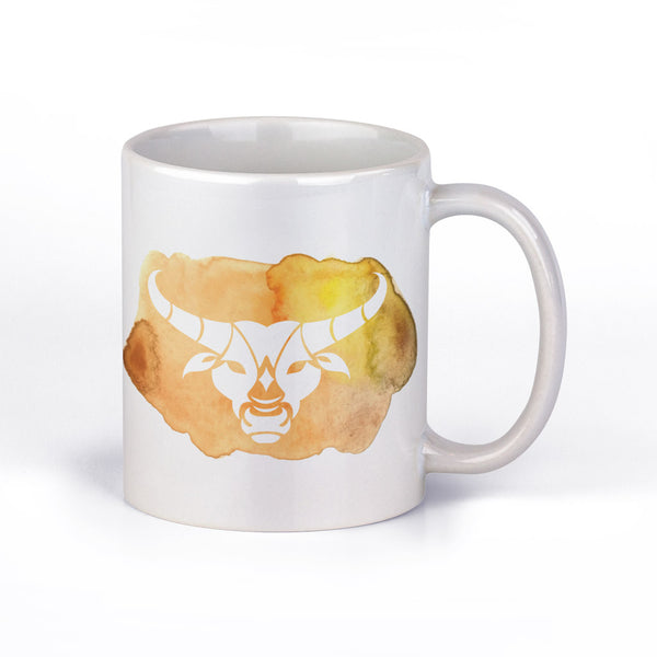 Coffee Mug with Taurus Horoscope Sign by Fashion In Punjab - Fashion In Punjab