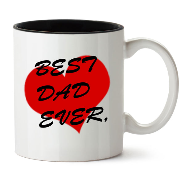 Best DAD Ever COFFEE MUG - Fashion In Punjab
