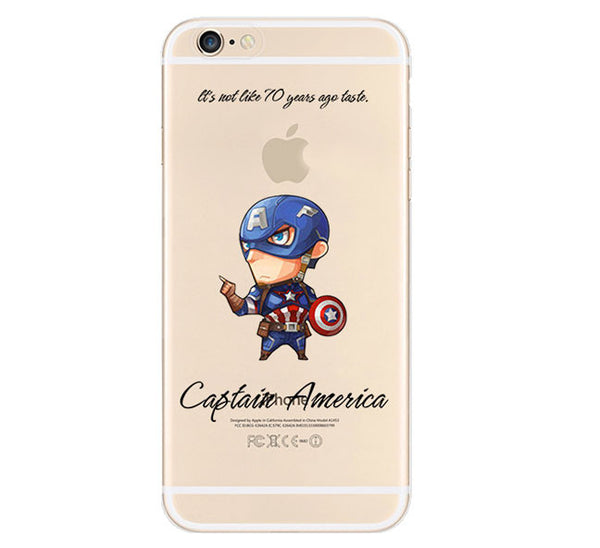 Captain America The Avengers Cover For Apple iPhone 6 - Fashion In Punjab