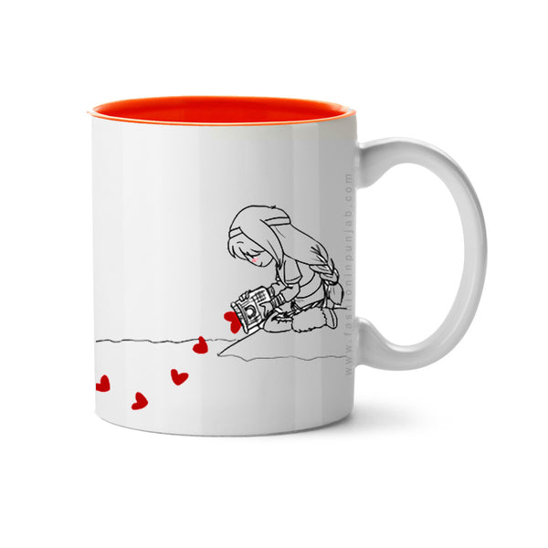 Hold My Heart - Couple Coffee Mugs by Fashion In Punjab. Best for Valentine day