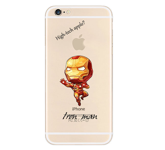 Iron Man The Avengers Cover For Apple iPhone 6 - Fashion In Punjab