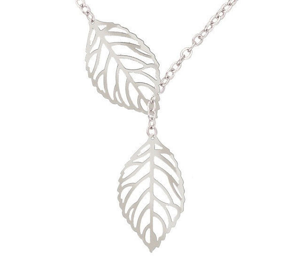 Silver Leafs Pendant. - Fashion In Punjab