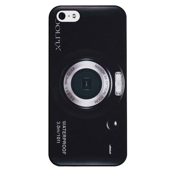 Nikon Style Cover For Apple iPhone 5, 5S, SE - Fashion In Punjab