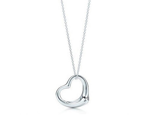 Silver Plated Heart Pendant. - Fashion In Punjab