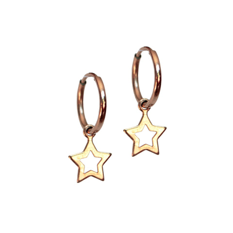 ELARA HOOPS<br/>14ct GOLD FILL