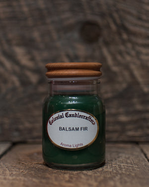 Balsam Fir Jar Candles