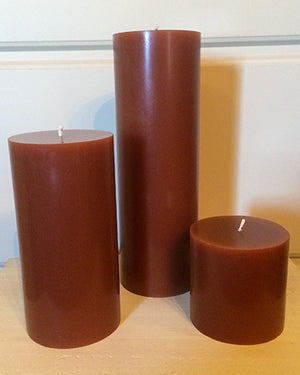 Cinnamon Bun Pillar Candles