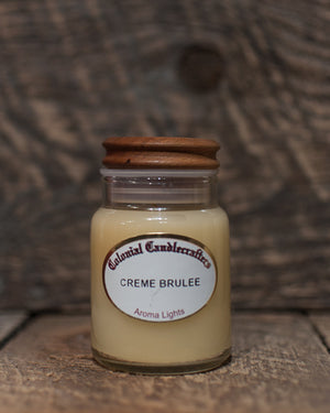Creme Brulee Jar Candles