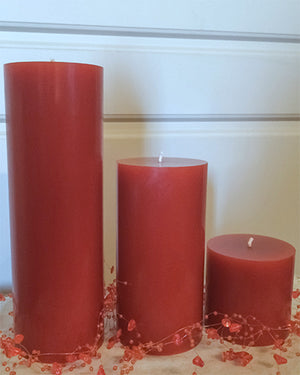Cedar Breeze Pillar Candles