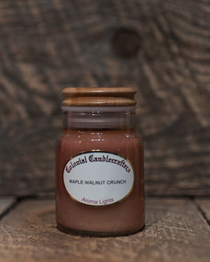 Maple Walnut Crunch Jar Candles