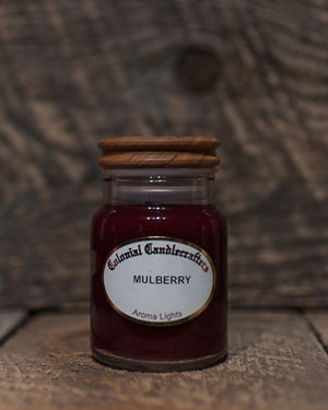 Mulberry Jar Candles