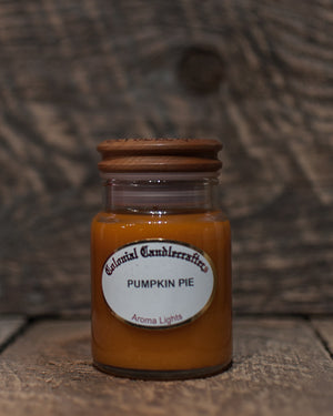 Pumpkin Pie Jar Candles