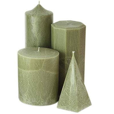 Bayberry Palm Wax Candles