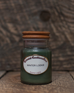 Winter Lodge Jar Candles