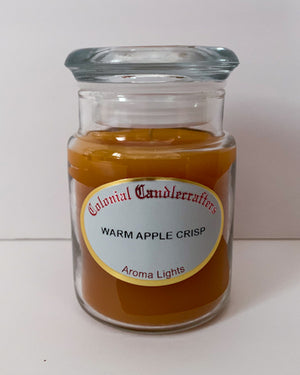 Warm Apple Crisp Jar Candles - Scent of the Month