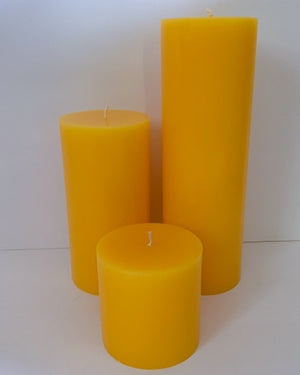 Honeysuckle Pillar Candles