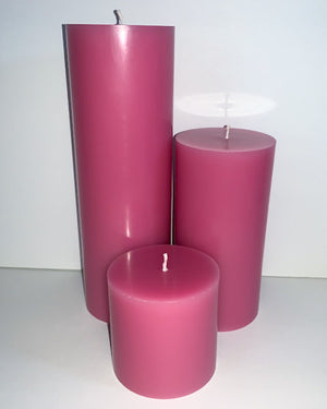 Hugs & Kisses Pillar Candles