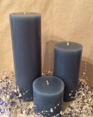 Country Home Pillar Candles