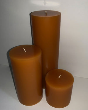 Butterscotch Toffee Pillar Candles