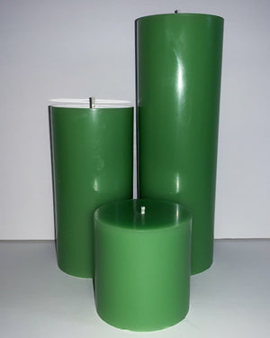 Hills of Clover Pillar Candles