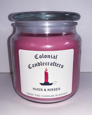 Hugs & Kisses Jar Candles - Scent of the Month