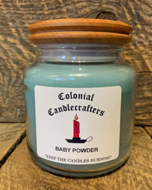 Baby Powder Jar Candles