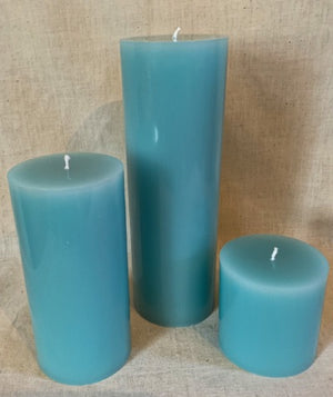 Baby Powder Pillar Candles