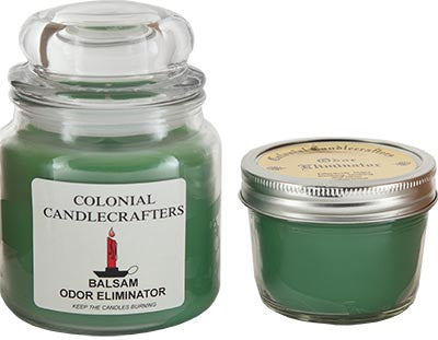 Balsam odor eliminator candle