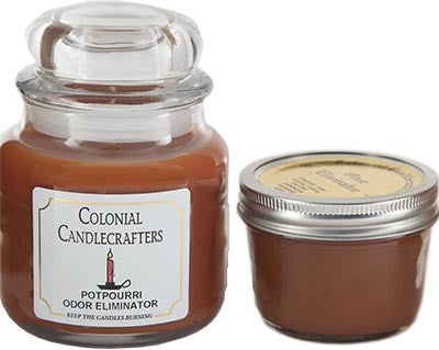 potpourri odor eliminator candle
